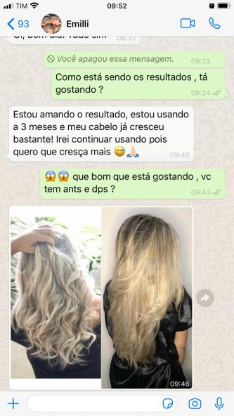 depoimento 1 Grow Hair